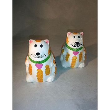 Kitty Cat Salt And Pepper Shakers