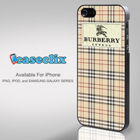 Burberry Pattern london for Smartphone Case