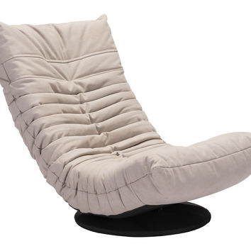 Jetson II Swivel Chair BEIGE