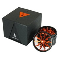 Thorinder 4 Piece Herb Grinder by AFTER GROW Color Orange