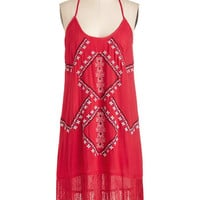 Festival Long Racerback Shift Sun and Strand Dress