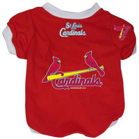 St. Louis Cardinals Pet Dog Baseball Jersey Alternate XL