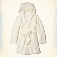 Gilly Hicks Hooded Sherpa Robe | Gilly Hicks Sleepwear & Lounge | HollisterCo.com