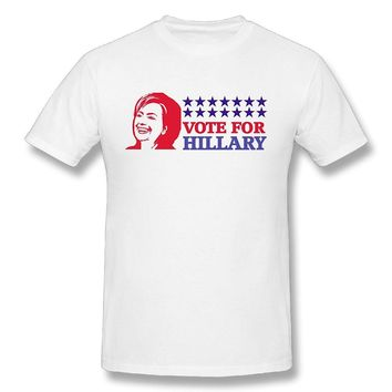 Vote For Hillary 2016 President Election Mens Fashion Short Sleeve T-shirts