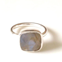 Claire Labradorite Sterling Ring