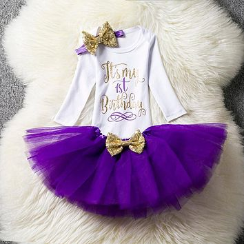 Toddler Girl Baptism Dress Infant Princess Costume Baby Girl 1 Year Birthday Dress Kids Party Wear Dresses For Girls Baby Frocks