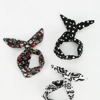 Silky Printed Ponytail Holder - Urban Outfitters