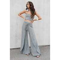 Lotta Love Two Piece Set (Grey)