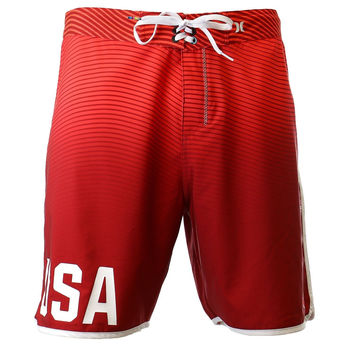 Hurley US Olympic Team Phantom Boardshorts Gym Red Mens 30