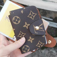 LV Louis Vuitton Multi - Card Personality Card Package Cute Card Folder Mini Small Bag
