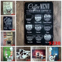 Coffee Bar Tin Signs