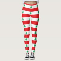 Leggings with flag of Lebanon