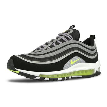 "Nike Air Max 97 ""Japan"" OG Black Neon Volt Running Shoes Sneakers 921826-004"