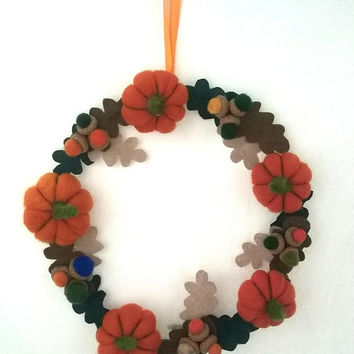 Thanksgiving wreath, fall wreath, autumn wreath, Thanksgiving decor, fall colors decor, autumn decor, harvest wreath, Front Door Wreath