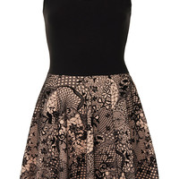 **Sleeveless Skater Dress by Annie Greenabelle - Dresses - Clothing - Topshop
