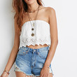 High-Waisted Distressed Cutoffs
