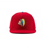 NATIVE CAT SNAPBACK RED – Odd Future