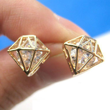 lovely diamond shaped Earrings/Ear Ring/Stud