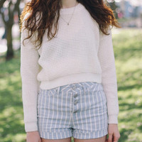 Crop To It Sweater