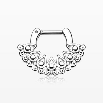 Arioso Filigree Septum Clicker