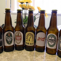 Game of Thrones Collectible Beer Bottles Complete Set (empty)