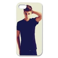 Custom Justin Bieber Cover Case for iPhone 5/5s WIP-3310