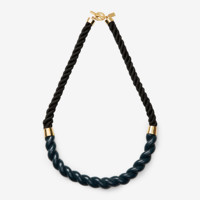 Kate Spade Saturday Resin Rope Necklace