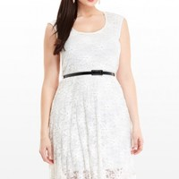 Plus Size Moondance Lace Dress | Fashion To Figure