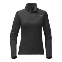 The North Face Glacier Quarter Zip for Women in TNF Black NF0A2RED-JK3