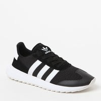 adidas Women's Black and White Flashback Sneakers at PacSun.com