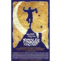 Fiddler on the Roof 27x40 Broadway Show Poster