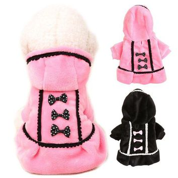 ac NOOW2 dog clothes for small dogs fleece sweater pet dog clothes winter warm dog