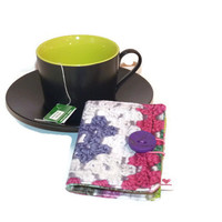Tea Wallet / Tea Carrier / Fabric Tea Wallet / TeaBag Holder / Travel Tea Bag / Tea Organizer / Travel Tea Wallet / Teabag wallet