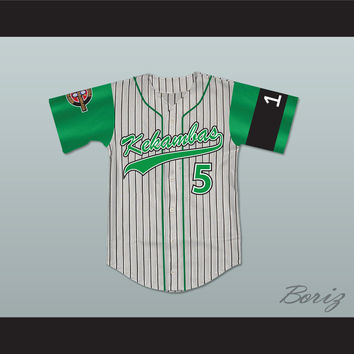 Raymond 'Ray Ray' Bennet 5 Kekambas Baseball Jersey Includes ARCHA Patch and G-Baby Memorial Sleeve