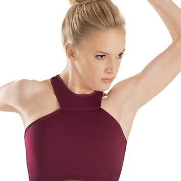High-Neck Racerback Bra Top - Balera