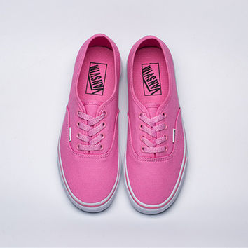 """VANSVIM"" Classic Style Casual Women Low Help Shoes Canvas Shoes Skateboard Shoes"
