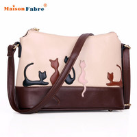 Best Deal New Fashion Casual Women Cat Rabbit Shoulder Bag Cross Body Purse Handbag Messenger Bag Good Quality Gift 1PC