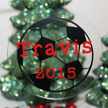 Sports Personalized Christmas Ornament
