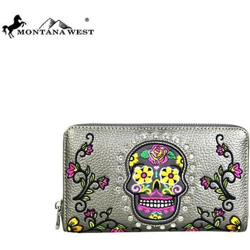 Sugar Skull Wallet Montana West