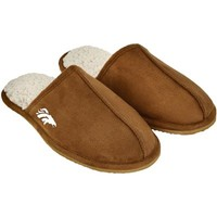 Denver Broncos High End Open Back Slide Slipper - Tan