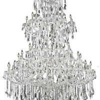 Karla - Large Hanging Fixture (61 Light Traditional Grand Crystal Chandelier) - 2381G54
