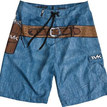 TAVIK 'SHOOTER' JOHN WAYNE BOARDSHORT LIGHT BLUE > Mens > Clothing > Boardshorts | Swell.com