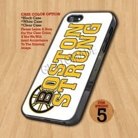 Boston Strong Marathon   - Design on Hard Case For iPhone 5 Case
