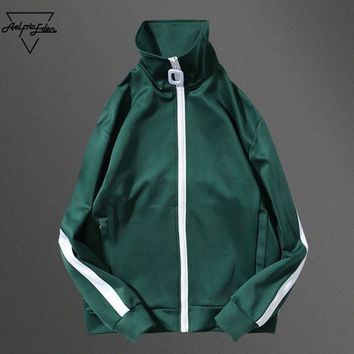 ca qiyif Windproof College Jacket