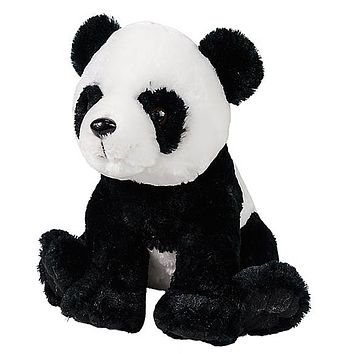 11 Inch Panda Bear Stuffed Animal Plush Floppy Zoo Species Collection