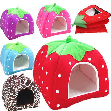 Dogs Cats Pets Strawberry Pet's Accessory [6343761158]