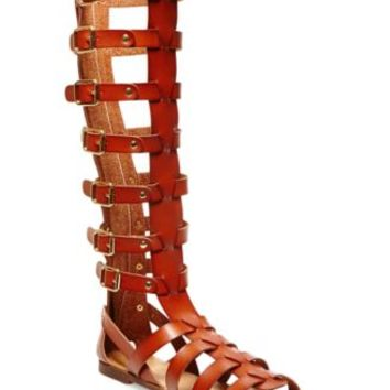 Madden Girl Penna Tall Shaft Gladiator Sandals | macys.com