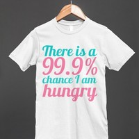 99.9% Chance. - S.J.Fashion - Skreened T-shirts, Organic Shirts, Hoodies, Kids Tees, Baby One-Pieces and Tote Bags