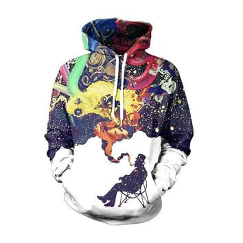Fashion Sportswear hip hop Printed Men's Hoodies Brand-Clothing Hoodies Sweatshirts Korean Hoodies For Men Streetwear Wear