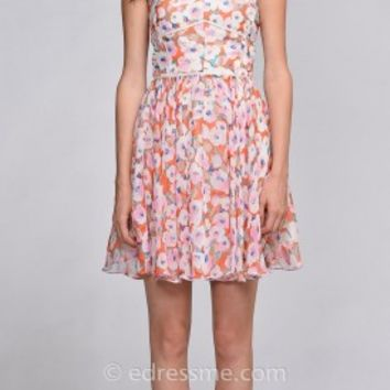 Sophia Flower Day Dress by EDM Private Collection